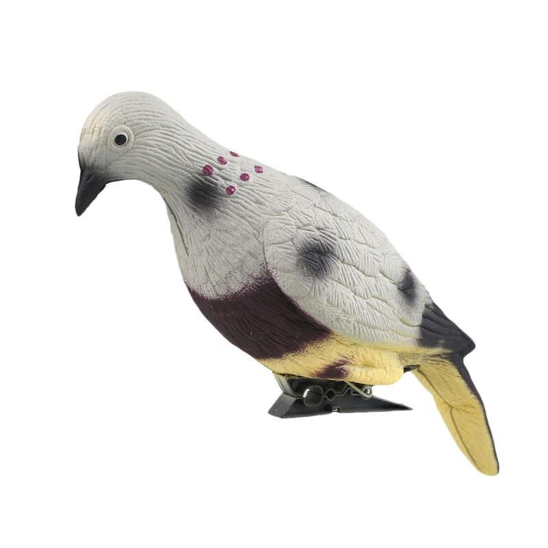 Eva Foam Dove Simulation Bait 3D Pigeon Target Field Hunting Simulation Decoy Archery Target for Outdoor