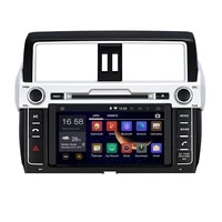 8 in dash android car dvd player with tvbt 3g gps wifiaudio radio stereocar pcmultimedia headunit for toyota prado 2014