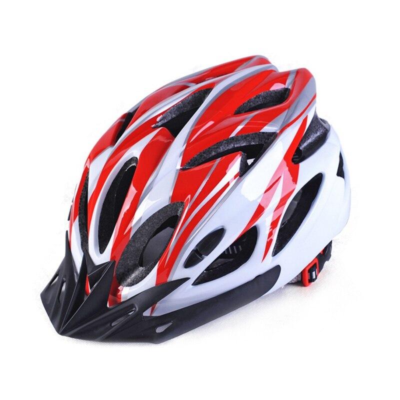 Casco de ciclismo integrado moldeado súper ligero montaña MTB Casco de Bicicleta de carretera para mujeres y hombres casco ciclismo Capacete 56 -63 CM