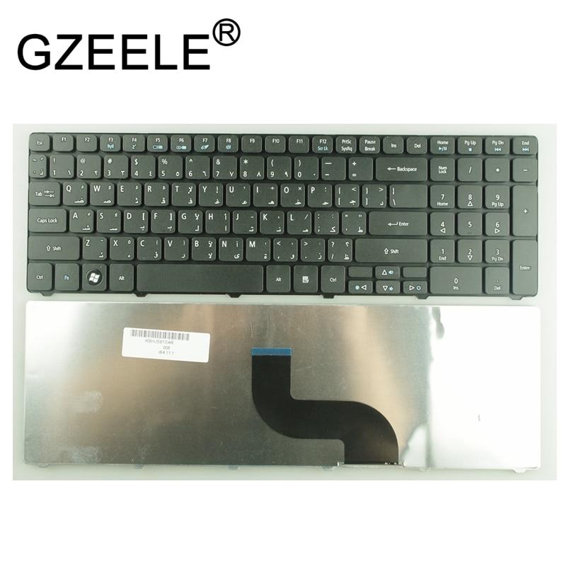 Arábico AR teclado para Acer Aspire 5542, 5551, 5552, 5553, 5560, 5810,...