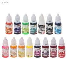 10 Ml Epoxyhars Pigment Uv Hars Coloring Dye Kleurstof Hars Pigment Diy Handgemaakte Ambachten Art Sets 15 Kleuren