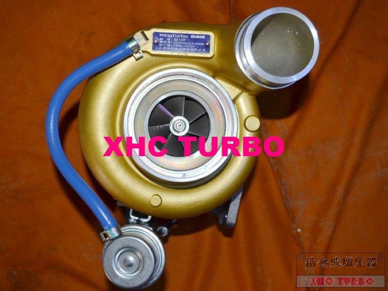 Nuevo turbocompresor genuino KINGTURBO HX40W Turbo para camión FAW AOWEI XICHAI diésel CA6DL2-33-35 350HP