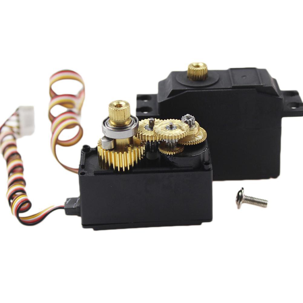 LeadingStar For Wltoys 12428 12423 12628 RC Cars Parts Metal Gear Servo Steering Gear Model Part