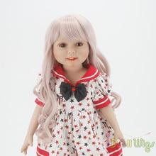 Perruques Seulement! Taro Miilk perruques pour 18 poupées américaines, Reborn poupées avec 10-11 pouces tête résistant à la chaleur synthétique cheveux accessoire
