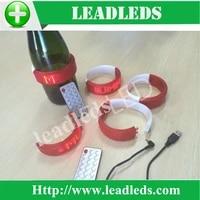 custom soft ultra thin led sign led bottle displaybackpack bags bracelet gift development