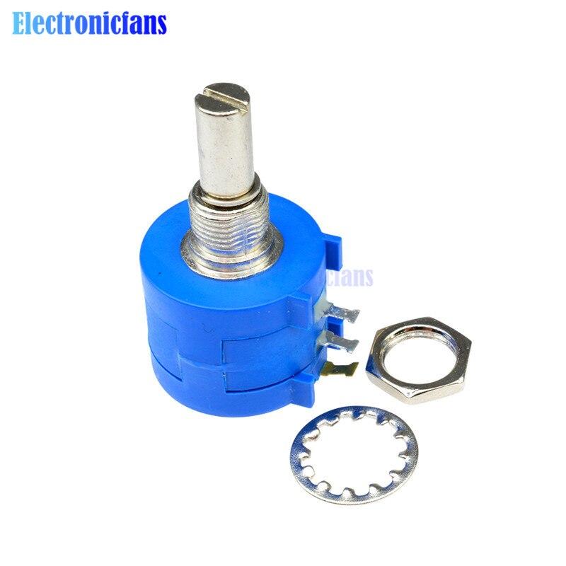 3590S-2-104L 100K Ohm Potenciómetro devanado rotatorio de precisión olla 10 Turn