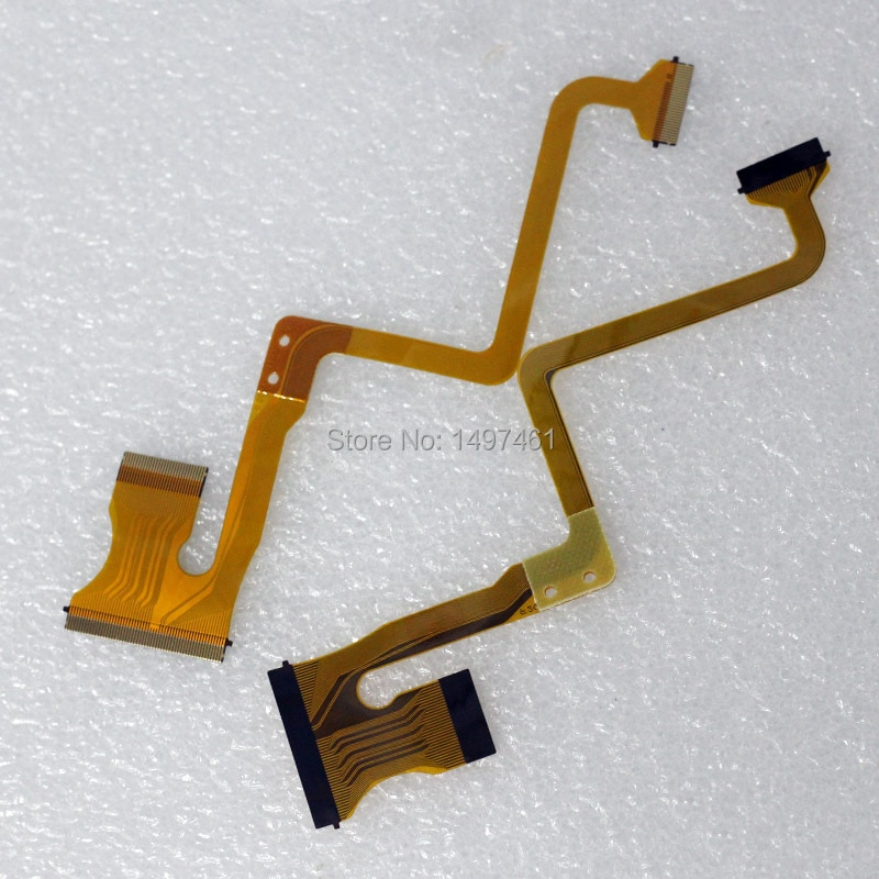 Гибкий кабель с ЖК-экраном для JVC GZ-MS95 MS120 MS123 MS130, HM200 GZ-MS95SE HD320, 2 шт.