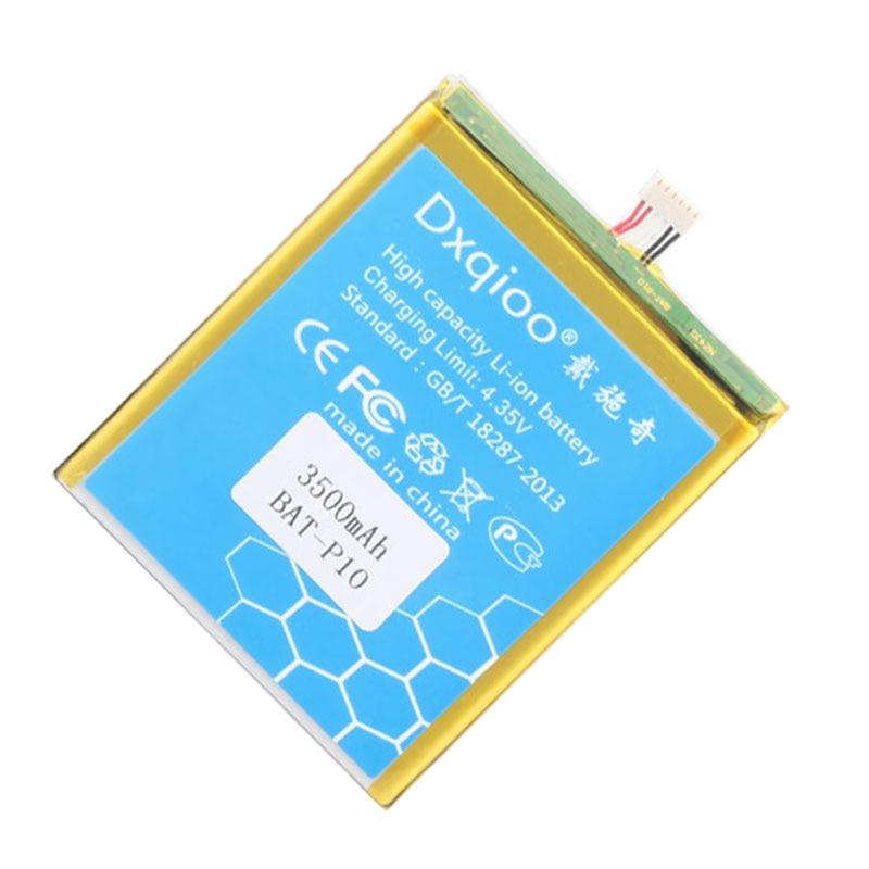 Dxqioo E700 battery fit para Acer líquido E700/Triple BAT-P10 3500 mah e39 trío PGF506173HT baterías