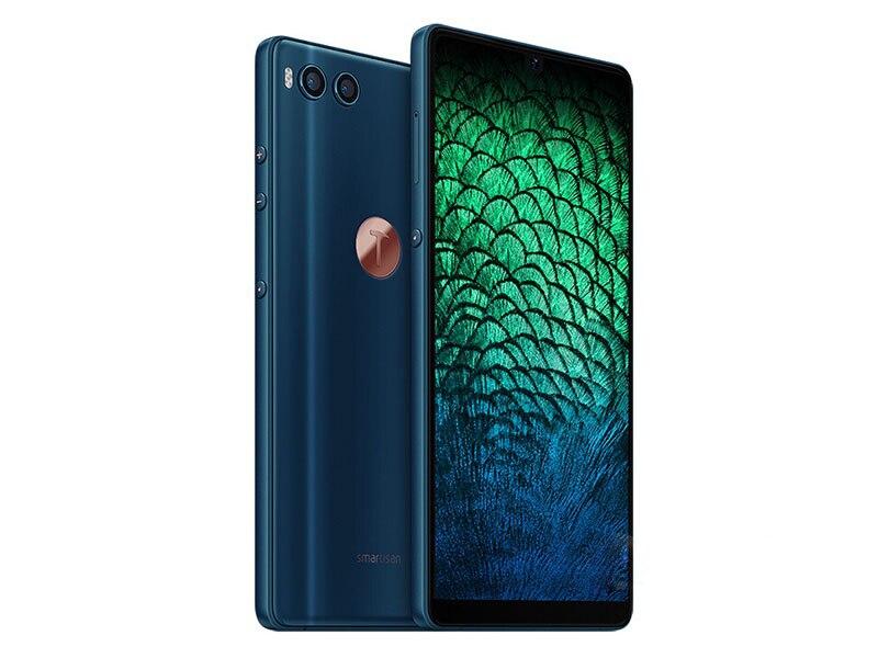 Фото5 - Смартфон Smartisan Nut R1, 4G, LTE, экран 6,17 дюйма, 6 ГБ ОЗУ 128 Гб ПЗУ, две SIM-карты, сканер отпечатка пальца, двойная задняя камера, мобильный телефон