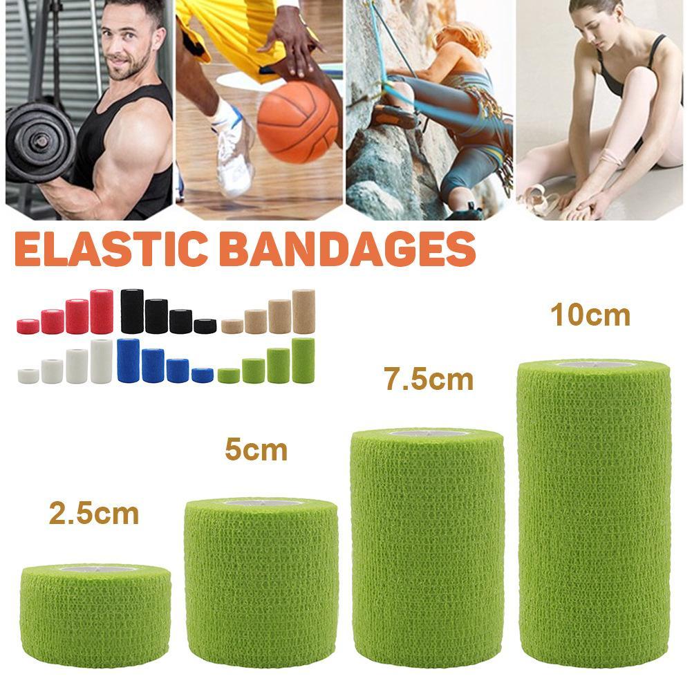 Sports Protection Elastic Bandage Nonwoven Fabric Self-Adhesive Elastic Bandage Should Be Uniform Color Incision Neat