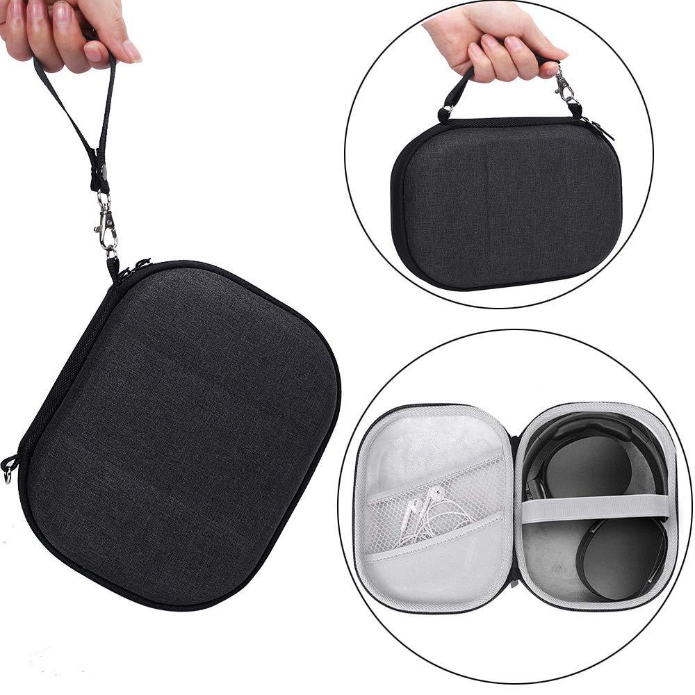 Hard Carry Case for JBL E55BT Wireless Headphone Bose QuietComfort 35 Sennheiser PXC 550 Skullcandy Hesh 3 Protective Travel Bag