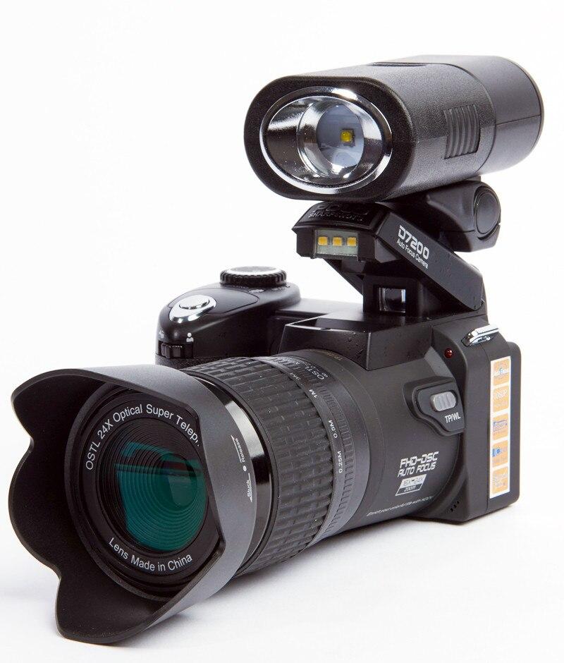 Aggiornato Professionale Protax POLO SLR D7300 16M Mega Pixel HD Fotocamera Digitale con Obiettivo Intercambiabile