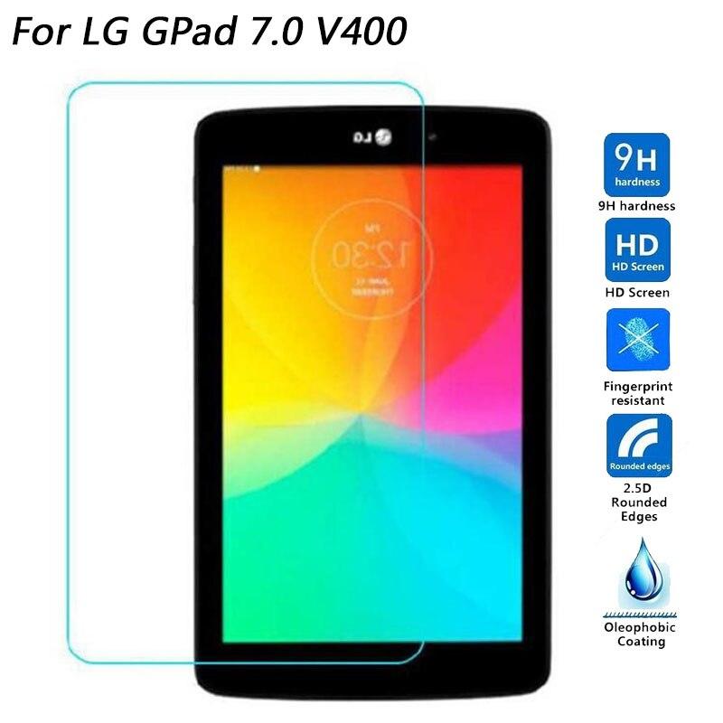 Szkło hartowane do LG G Pad PAD3 10.1X760/Pad4 8.0 V480 V490/GPad 7.0 V400/ padF 8.0 V495 folia ochronna na ekran