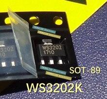 Livraison gratuite 100 pièces WS3202K-3/TR WS3202K WS3202 SOT-89 nouveau original