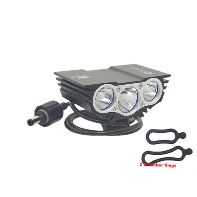 SolarStorm X3 T6 Kopf lichter fahrrad licht 6000 lm XM-L 3T6 LED 4 Modi Fahrrad licht Vorne lampe