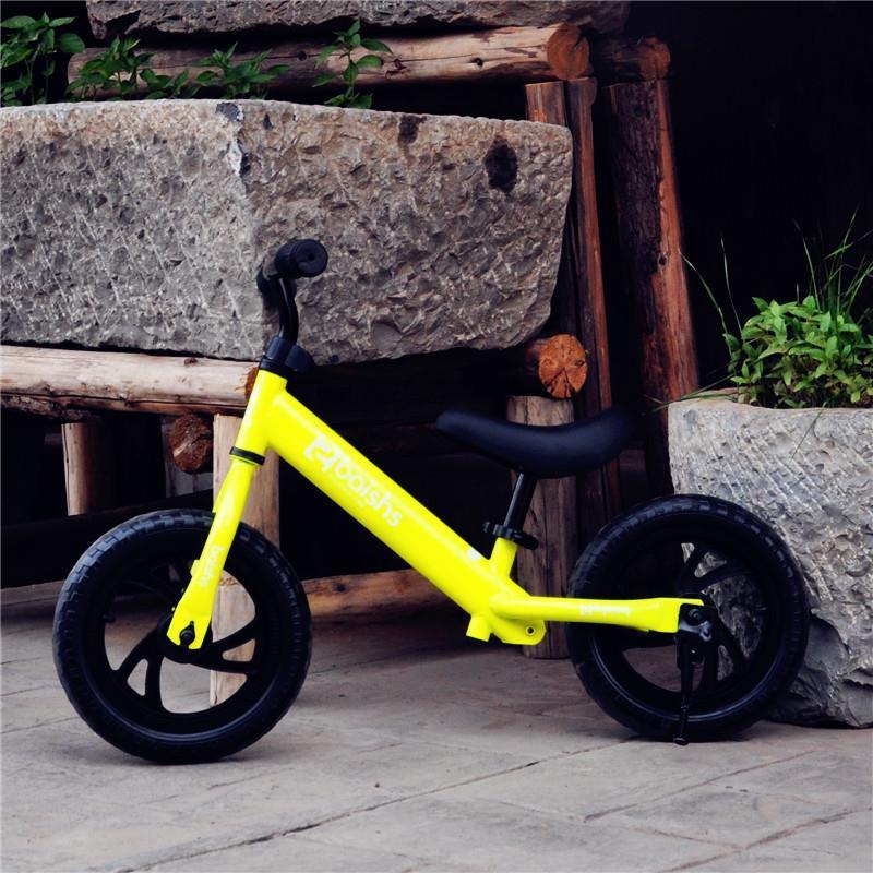 Mini Scooter Balance bicicleta segura rueda grande altura ajustable de dos ruedas Scooter para niños de 2-6 años de edad juguetes para niños