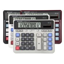 Sharp EL-2135 Computer Grote Knop Rekenmachine Bank Financial Accounting Speciale Grote Desktop Kantoor Business
