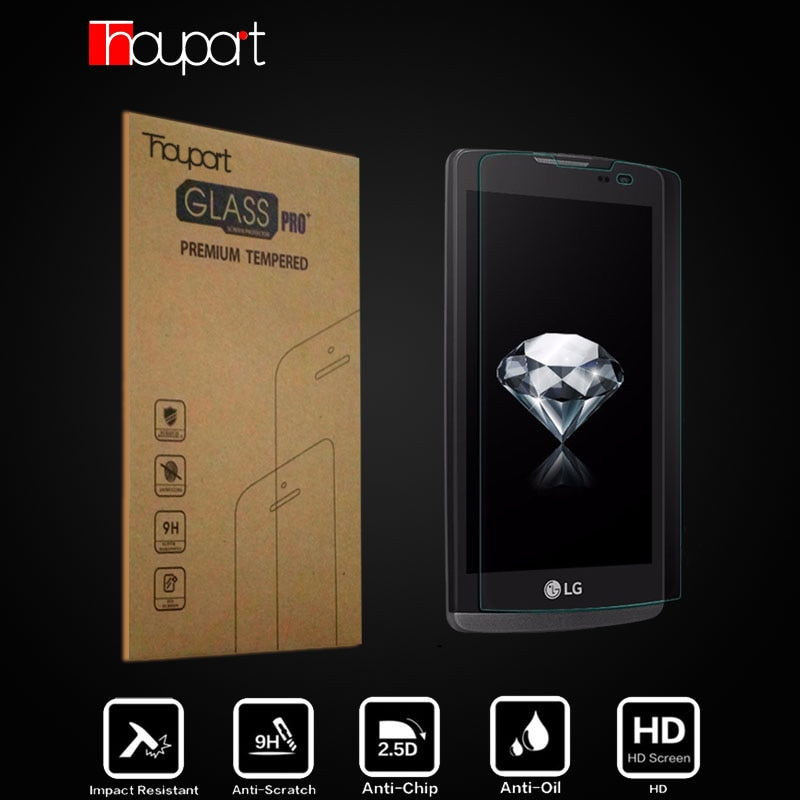 Защита для экрана из закаленного стекла Thouport, 2 шт., для LG Leon, 4G LTE, H324, H320, H340N, C50, C40