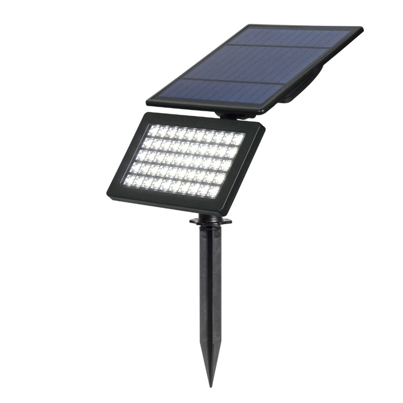Luz alimentada por energía solar ARILUX 2W 50 LED Luz de paisaje exterior jardín IP44 lámpara de césped impermeable