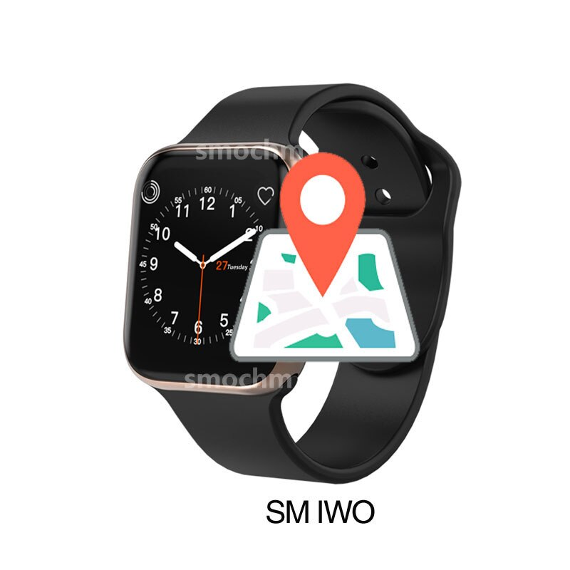 SM IWO 10 Smart Uhr Bluetooth 11 Serie 4 Drahtlose Ladegerät GPS Sport Für Apple Uhr iPhone Android Aktualisiert IWO9 IWO8 plus