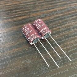 100 pces 470 uf 25 v nippon ncc ky kze série 10x16mm baixo capacitor eletrolítico de alumínio esr 25v470uf