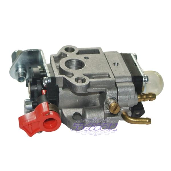 Carb Carburetor Fit 24cc 25cc 26cc 1E34F Engine Motor Part Trimmer Bushcutter dtrc g26b 26cc gasoline spider catamaran rc boat with 26cc engine