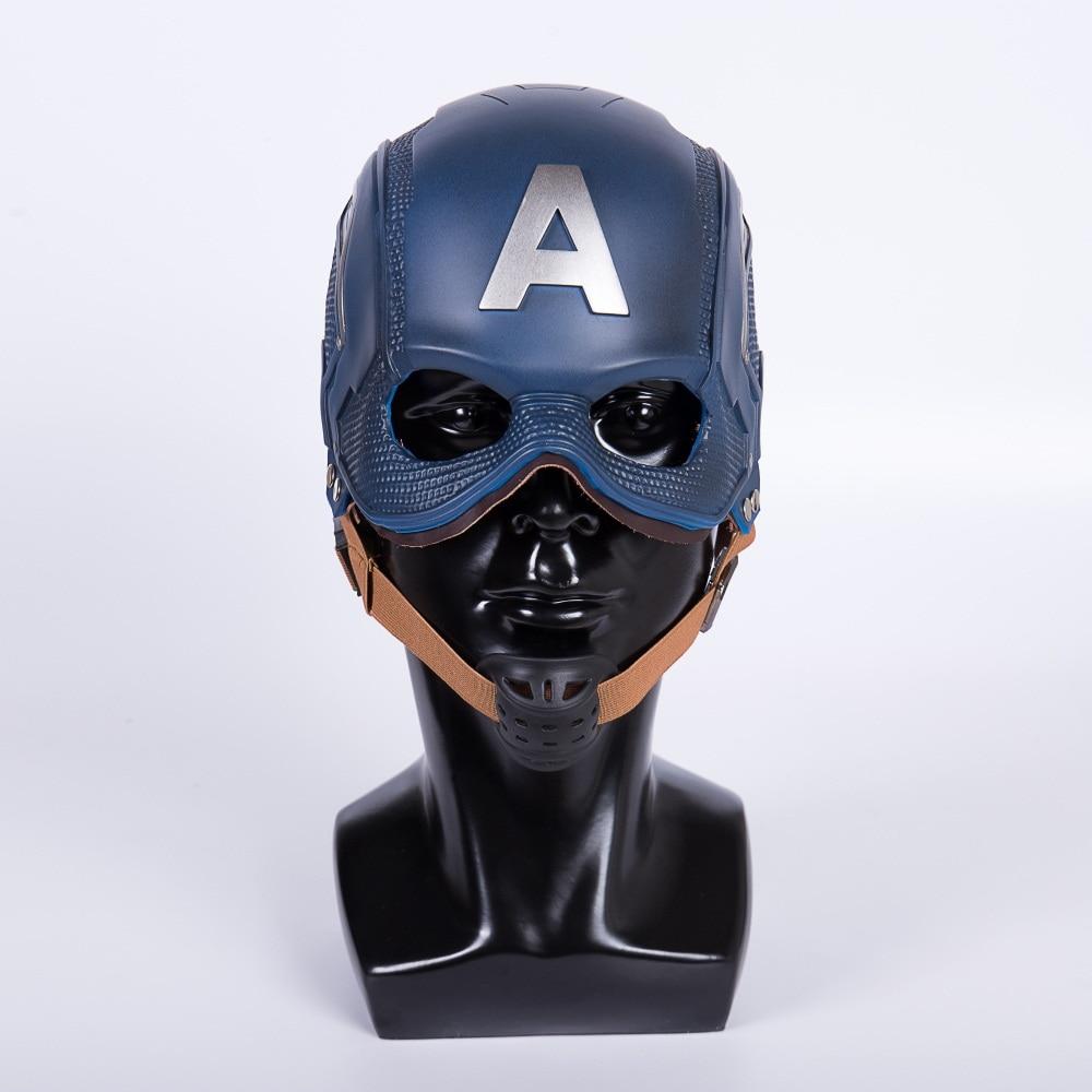 Шлем «Captain America», Маска «Civil War», шлем «Steve Rogers», новая маска для косплея