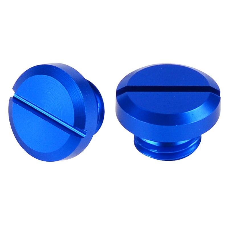2PCS M10*1.25 Right-Hand Threaded Mirror Hole Plug Screw Bolts For Honda XL230 XR230 CRF250L CRF250M CRF250 RALLY FORZA/S/T/ST
