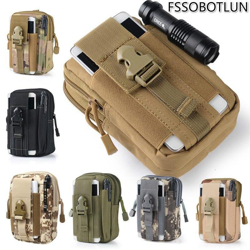 Alta calidad para Wiko Ufeel/Lenny 2/Pulp Fab 4G/Fever 4G funda al aire libre táctica pistolera militar cadera cinturón de teléfono bolsas