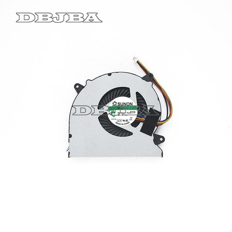 Ventilador enfriador de CPU portátil para ASUS N750JV N750JK G550J G550JK N750