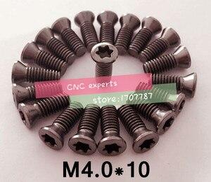 10 шт. M4.0 * 10 мм токарный станок с ЧПУ Запасные Винты Torx винты