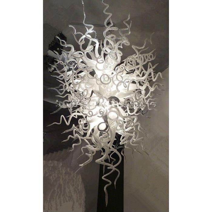 Longree Modern Home Decor Chandeliers Suspension Led Hanging Light Indoor Lighting Hand Blown Glass Pendant Chandelier for Hotel