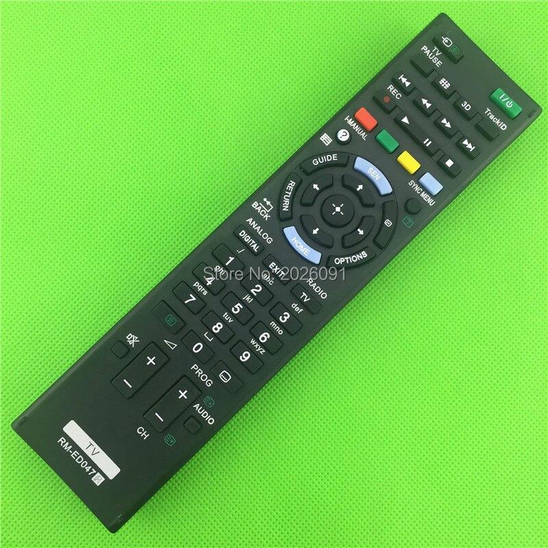 RM-ED047 controle remoto apropriado para TV SONY RM-ED050 RM-ED052 RM-ED053 RM-ED060 RM-ED046 RM-ED044
