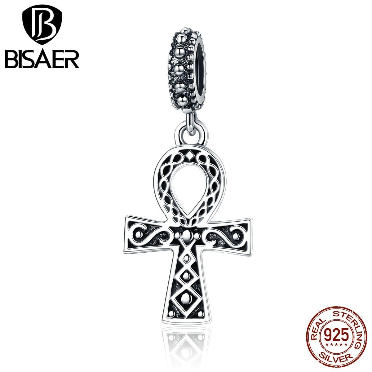100% Стерлинговое Серебро 925 пробы сила веры, Кристиан крест Иисус Подвески подходят Подвески браслет ожерелья Модные ювелирные изделия