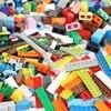 Jouet 100 g/pack multicolore de pièces en vrac pour enfant et pour Lego modèle DIY blocs de construction briques compatibles cadeau