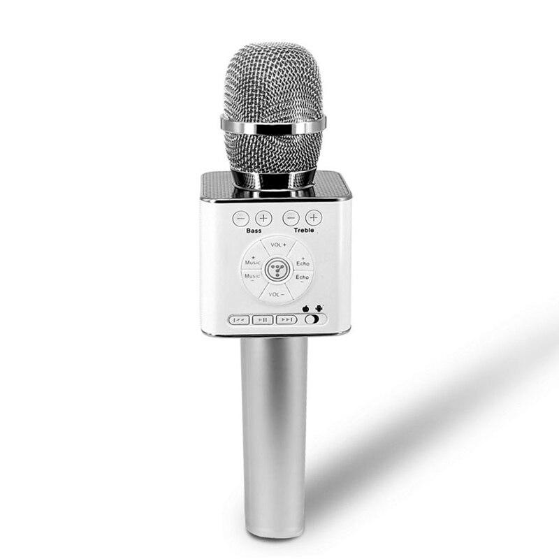 Tosing Q9 04 micrófono inalámbrico de Karaoke Altavoz Bluetooth 2 en 1 portátil para cantar y grabar reproductor KTV portátil para iOS/Android