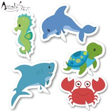Under the Sea Animal Table Centerpiece Marine Animals Decorating Centerpiece Birthday Party Decorations Supplies Crab dolphin