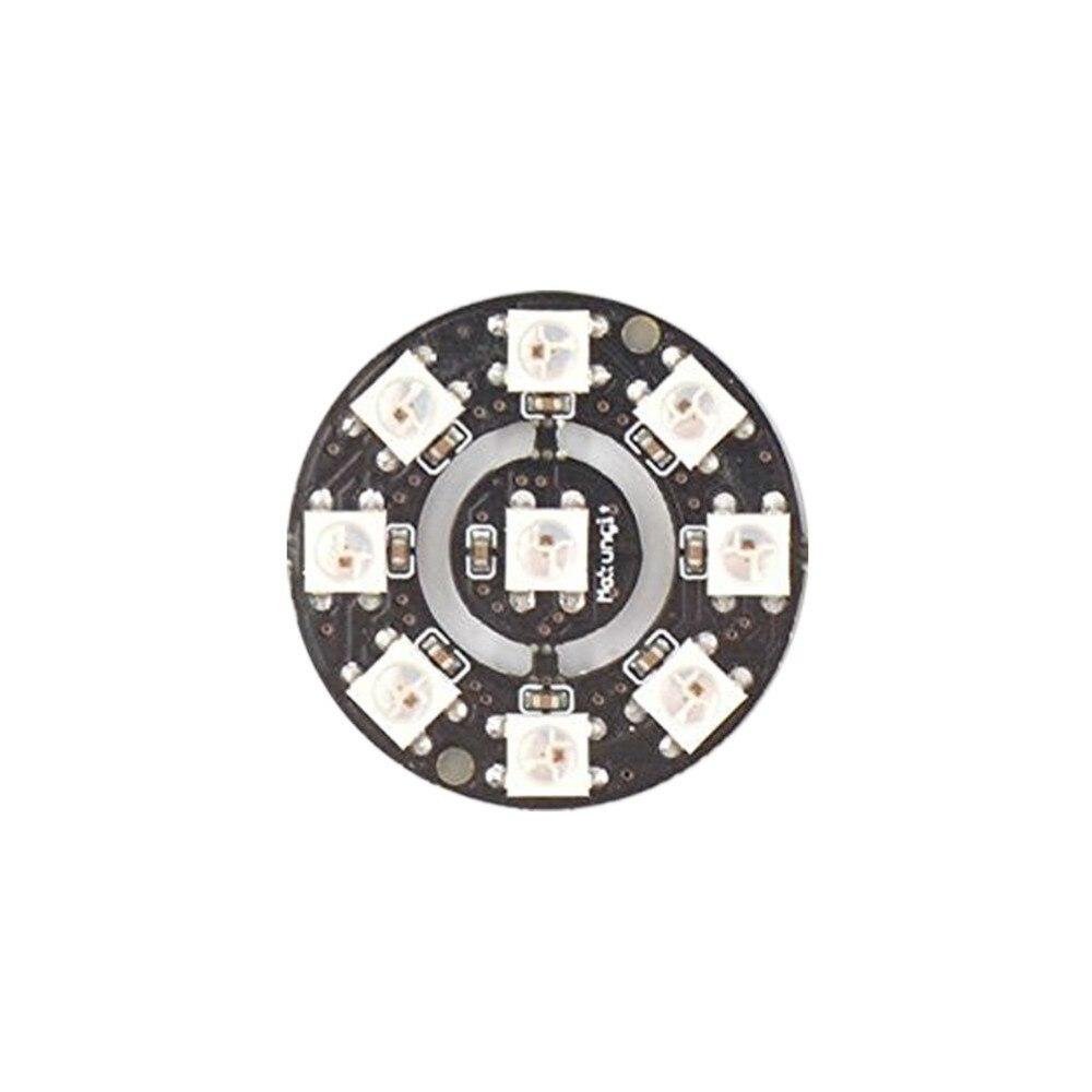 Anillo LED Mokungit SK6812 WS2812B, 37 LEDS, controlador RGB 5050 integrado para Arduino, anillo de iluminación LED integrado DC5V
