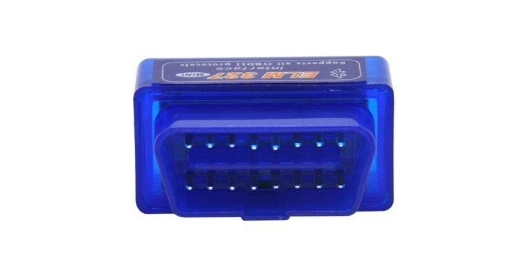 Auto Car Diagnostic Scanner Code Reader Scan Tool Mini ELM327 V2.1 Bluetooth Interface OBD Advanced OBDII OBD2 ELM 327
