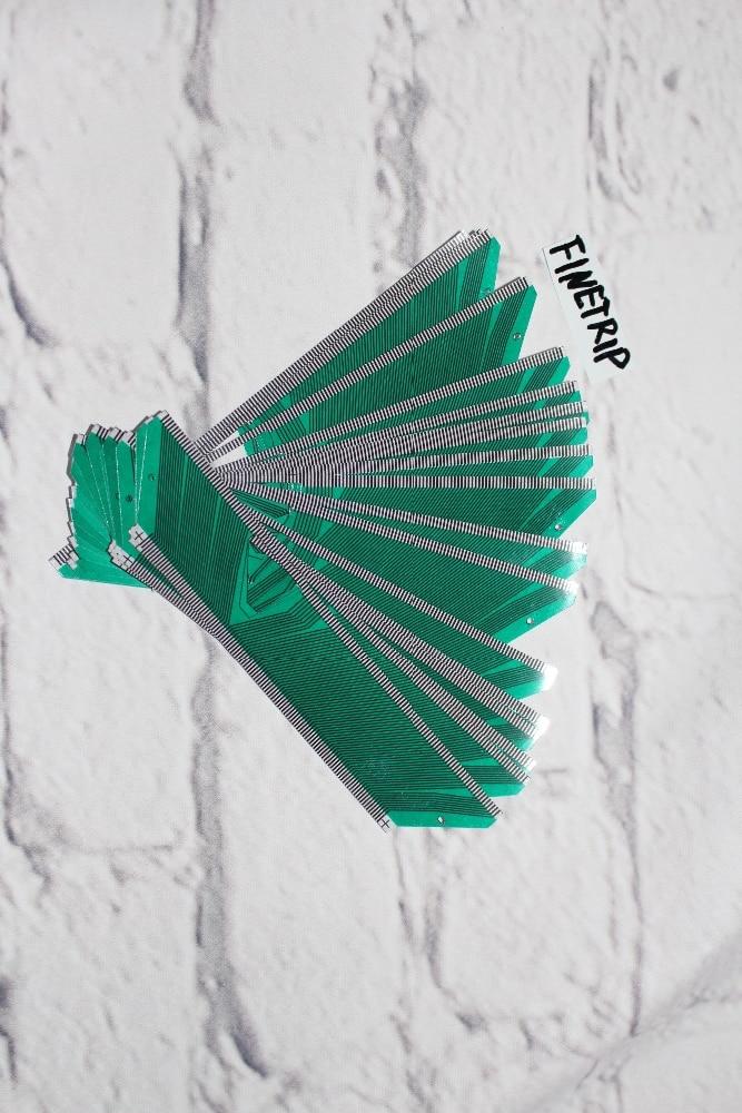 FINETRIP CNPAM 1pc ou 5pcs Entrega Rápida para modelos SAAB 9-3 9-5 SID1 LCD exibição de Substituição do Cabo de Fita do reparo do Pixel Em Falta