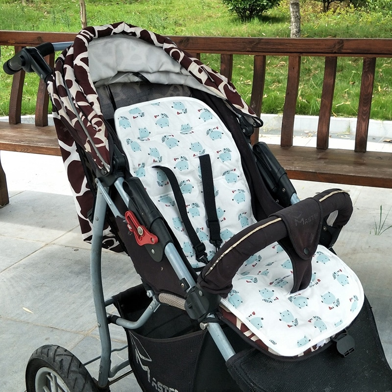 New Comfortable Baby Stroller Pad Soft Seat Cushion Child Cart Mat Kids Pushchair Accessories Four Seasons