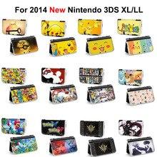 1 pièces pokemon pikachu xy x y zelda balle à piquer Tokyo Ghoul Console de jeu étui rigide de protection housse pour 2014 nouveau 3DS XL LL