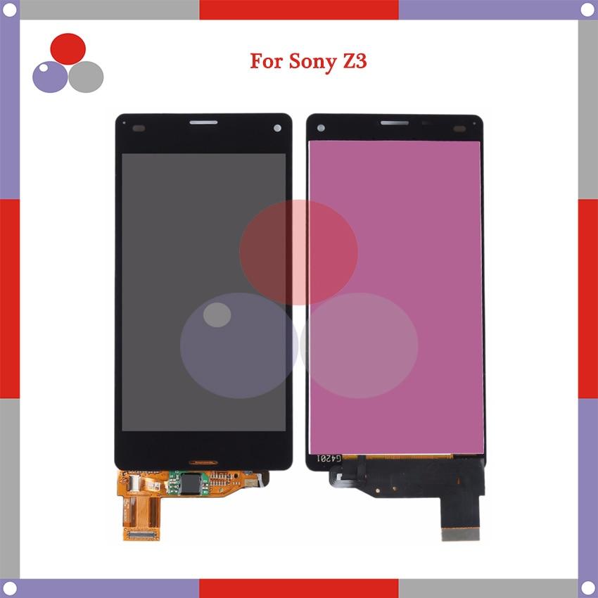 10 unids/lote 5,2 para Sony Xperia Z3 D6603 D6653 L55t D6683 pantalla táctil piezas de repuesto digitalizador Asamblea