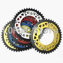 LOPOR pignon arrière de moto 43T   Avec couleur, pour Muz1000S 2003, convient pour Yamaha OWO2 99-01,YZF R1 4XV 5PW 91-03