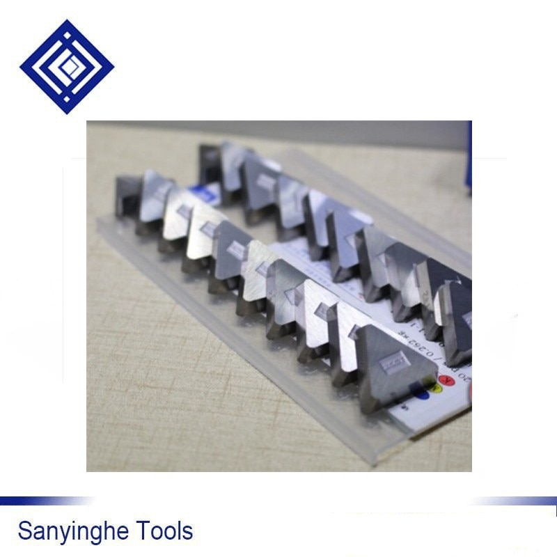 3130511 YG6X مثلث آلة كربيد يميل قطع طحن إدراج أدوات القطع باستخدام الحاسب الآلي شفرة (20 قطعة/صندوق)