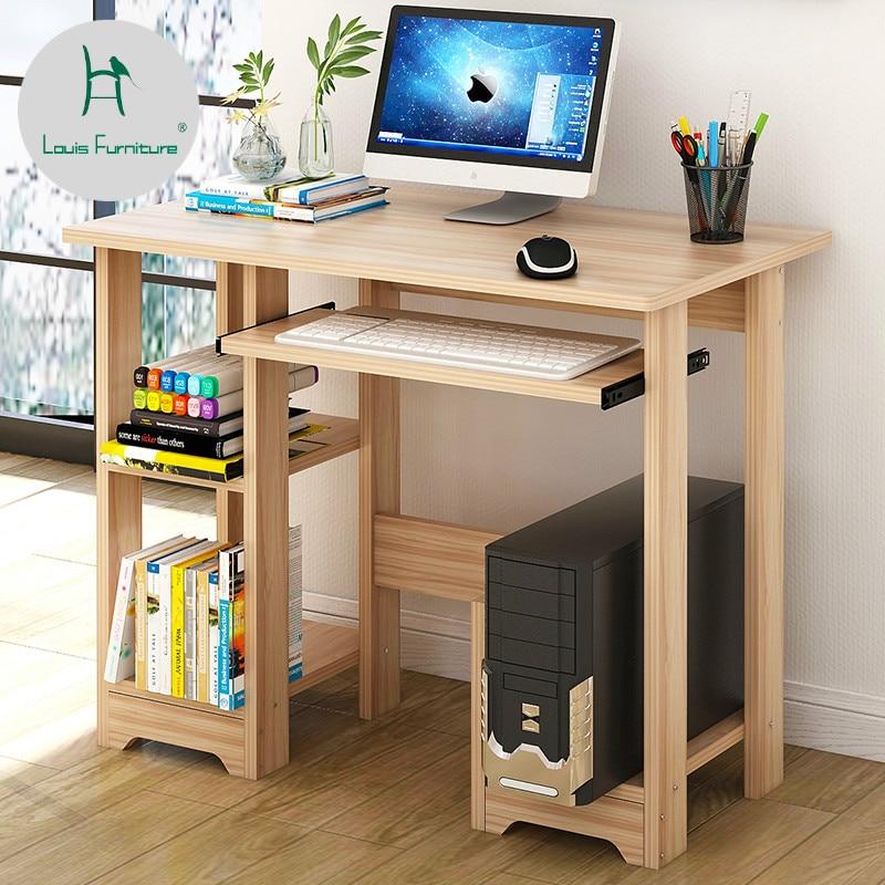 Louis Fashion Computer Desks Household Modern Simple Easy Write Learn