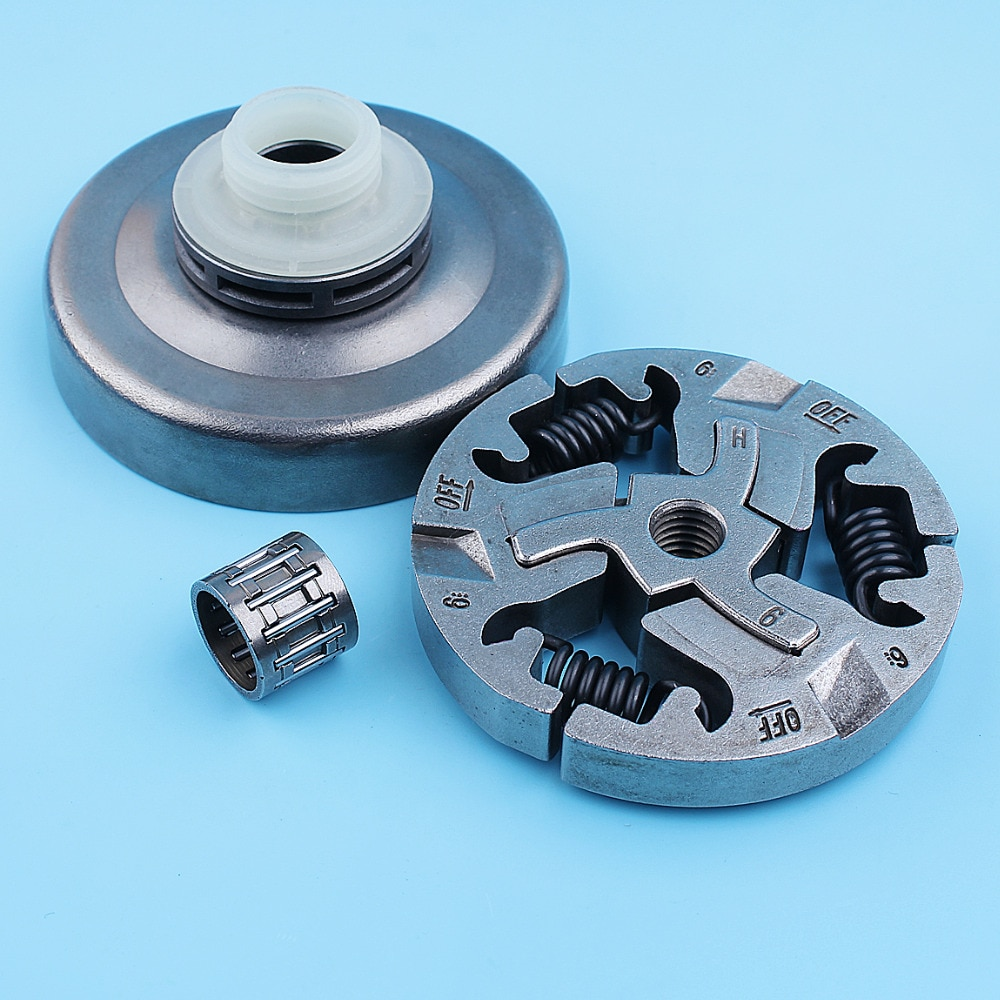 Фото - 3/8 Clutch Drum Sprocket Rim Worm Gear Kit For Jonsered 2159 CS2156 CS2159 CS 2156 Chainsaw 7 Tooth Replacement Parts cylinder piston air fuel filter gas line kit for jonsered cs 2159 cs 2156 cs2159 cs2156 epa chainsaw 47mm big bore port nikasil