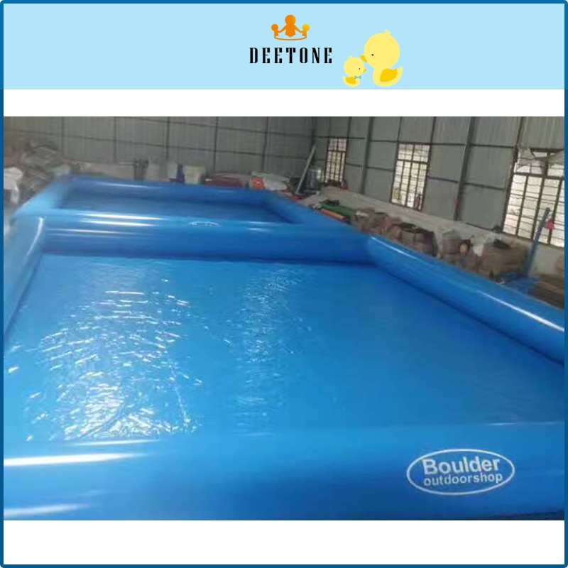 8M*6M Commercial Bule Swimming Pool Adult Large Swimming Pool Inflatable Water Swimming Pool For Sale