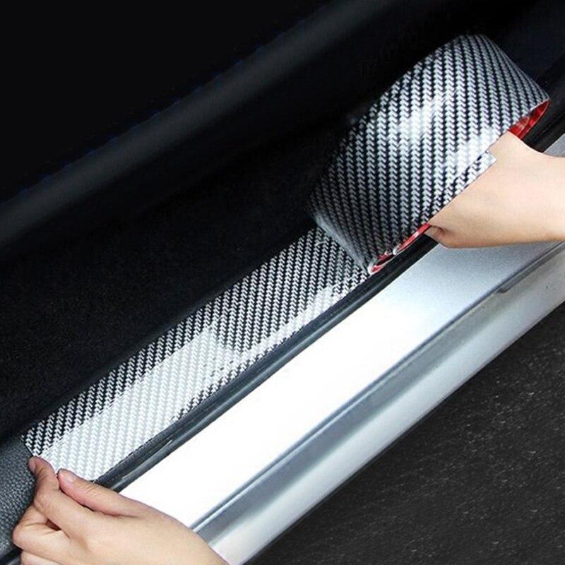 1M Auto-Styling Weiche Gummi Auto Stoßstange Streifen 30mm/50mm Breite Auto Exterior Front Lip protector Aufkleber Streifen Kit