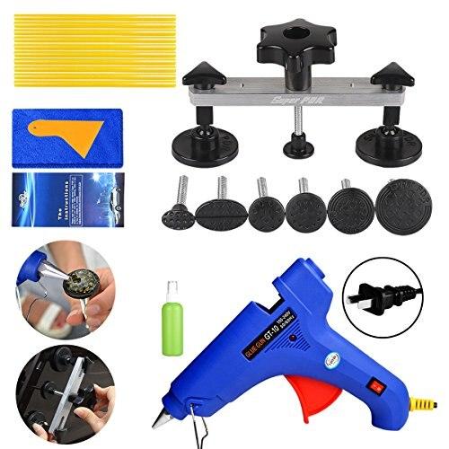 Extractor de abolladuras sin pintura para herramientas (PK-01), Kit de reparación de abolladuras, Kit de carrocería